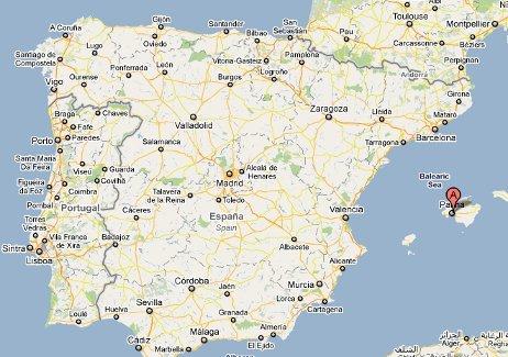 mapa maiorca espanha Correr pelo Mundo   Onde correr em Palma de Mallorca | Correr pelo  mapa maiorca espanha