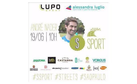 Lupo Sport patrocina o projeto #SSPORT, em São Paulo
