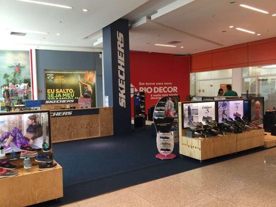 Skechers abre loja para os Jogos Olímpicos no Rio