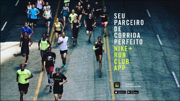 Nike lança nova versão do Nike  Run Club app