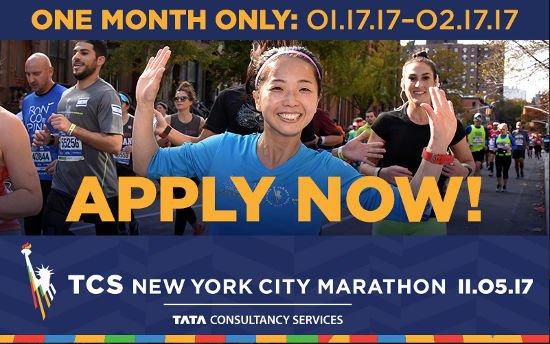 Abertas inscrições para sorteio de vagas da Maratona de Nova York 2017