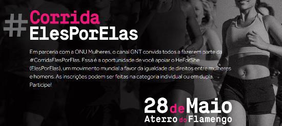 GNT apresenta #CorridaElesPorElas (HeForShe) no Aterro do Flamengo