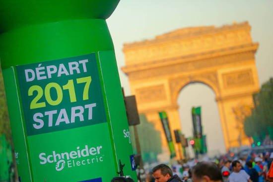Vídeo: Maratona de Paris 2017
