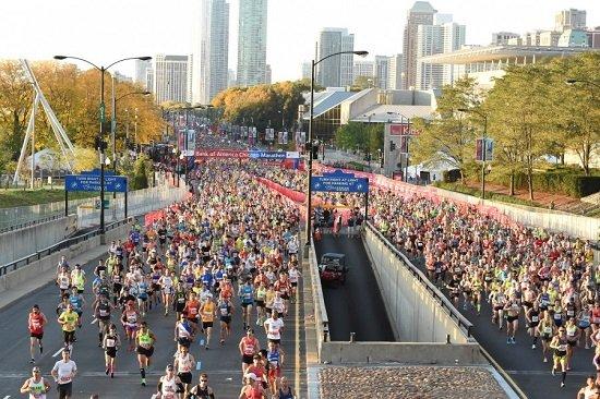 Como assistir ao vivo à Maratona de Chicago 2017