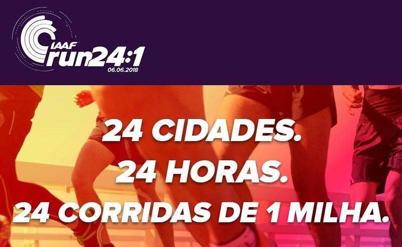 São Paulo recebe o IAAF 24:1