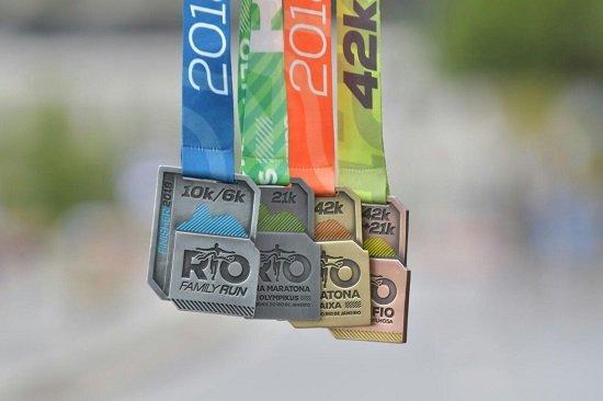 Conheça as medalhas da Maratona do Rio 2018