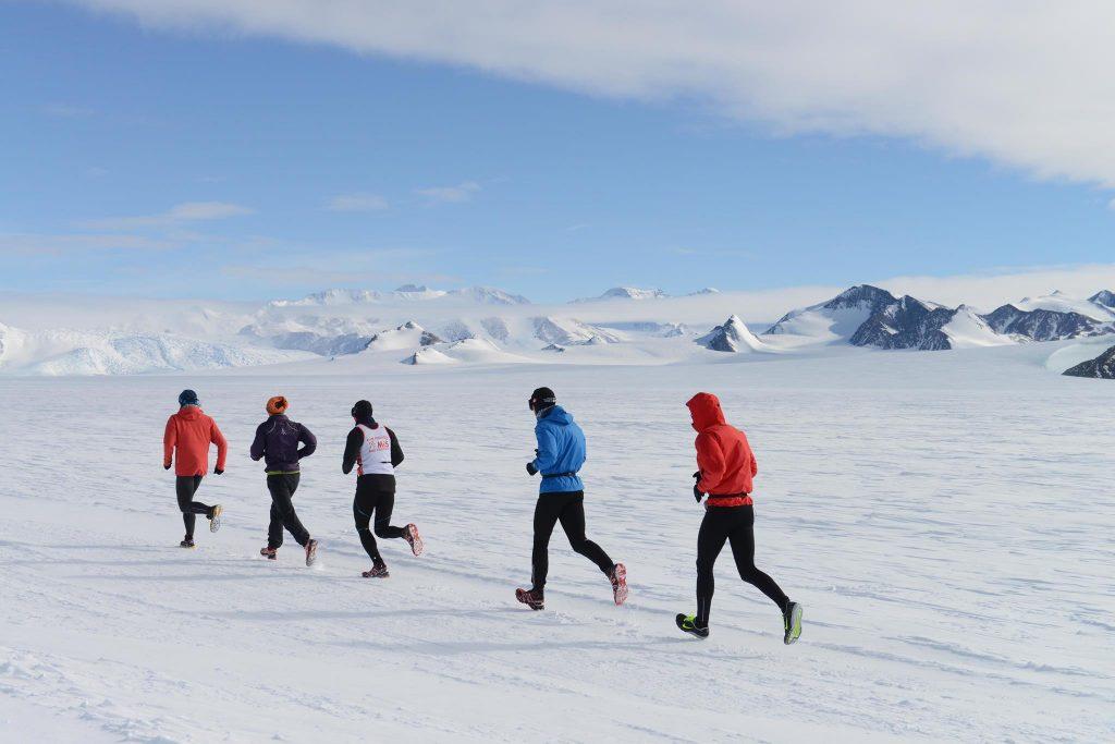 Que tal correr no Pólo Norte?