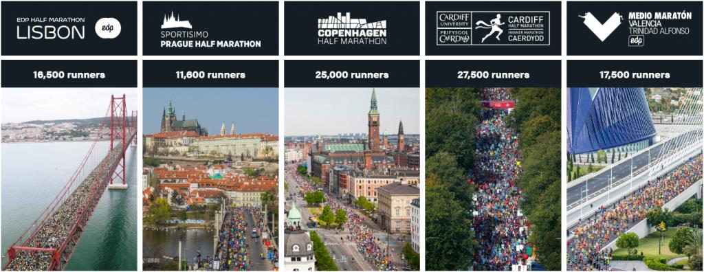 Uma série extraordinária de corrida para corredores comuns